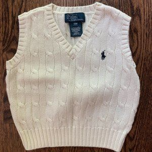 NWOT Polo by Ralph Lauren Sweater Vest